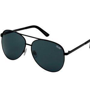 Quay Vivienne Aviator Style Sunglasses